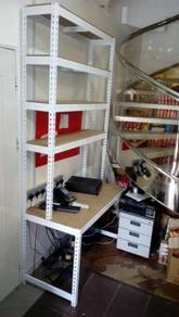 Work Station ( Boltless ) Custom Made
