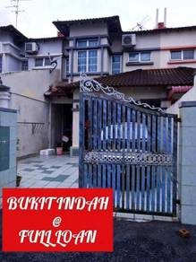 Bukit indah via 2nd link ( full loan house )