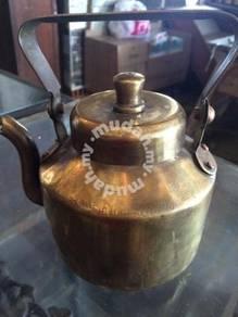Antique Copper Teko Teapot / Tembaga Antik 22