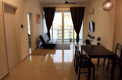 Sunny Ville FURNISHED near E-gate USM FTZ Queensbay Penang Bridge