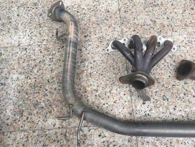 Js racing complete set exhaust piping Jazz gd