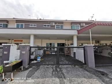 Medan Pengkalan Mutiara Double Storey Terrace Unit Baru