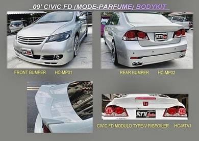 Civic fd 2006 mode PARFUME bodykit body kit bumper