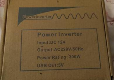 Power inverter charge