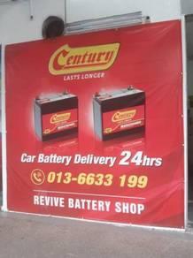 Amaron go car battery delivery bateri Kereta servi