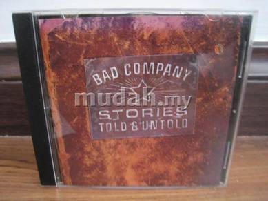 CD Bad Company - Stories Told and Untold