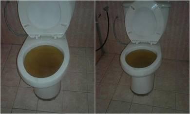 Tandas Tersumbat/Potong Rumput/Repair paip DLL