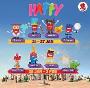Happy Meal Toys - Happy Character