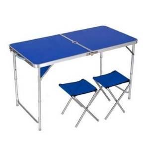 Foldable table meja lipat 4x2 ft