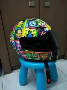 Casco AGV GP- TECH Valentino Rossi face helmet