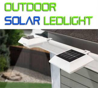 Gutter led solar light