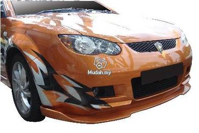 Proton Satria Neo Front V-Lip And Rear Difusser PU