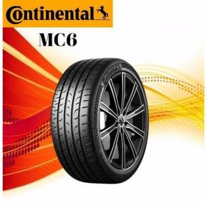 CONTINENTAL MC6 SSR RFT 245/40/19 new tyre tayar
