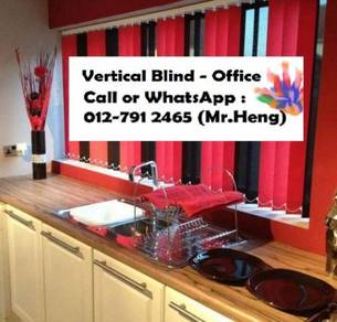 Easy Use Vertical Blind - with installation 34AB