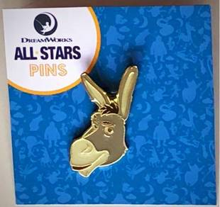 7 Eleven All Stars Pins (Donkey)