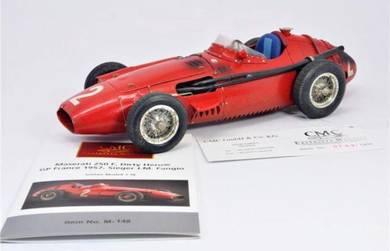 Maserati 250 F Dirty Hero GP France 1957 CMC 1:18