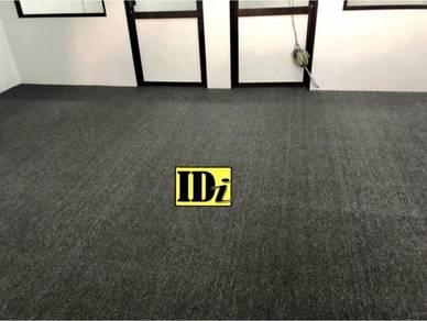 Karpet loop 3mm, carpet pejabat siappasang / D4RF