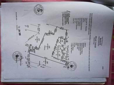 Tanah padi 3 ekar Padang Bongor, Kubang Kala