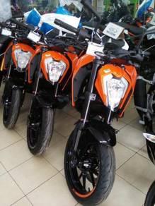 Sales Promotion KTM DUKE 250 ABS New Face