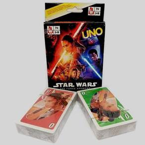 Star wars X Uno card (the force of awakens)