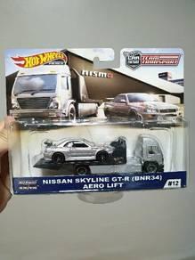 HotWheels Nissan Skyline GT-R (BNR34) Aero Lift