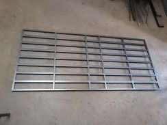 Grill Tingkap 5panel Refurbished 4x9kaki