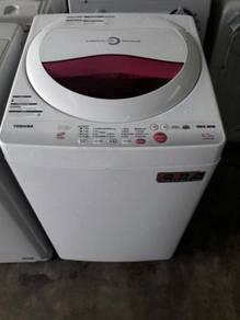 Toshiba Fully Mesin Basuh Auto Washing Machine Top