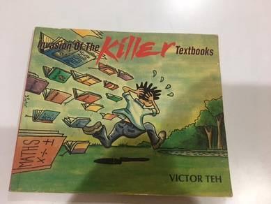 Invasion of the Killer Textbooks Comic