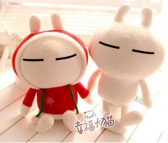 Tuzki Bunny Rabbit Plush Toys Collection