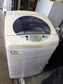 Top Basuh Automatic Mesin Samsung Load Washer 7kg