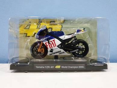 Leo 1:18 2009 Yamaha WC Rossi #46 MotoGP Diecast