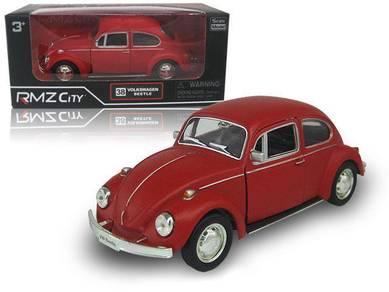 Kereta hiasan 1967 Volkswagen Beetle matte red