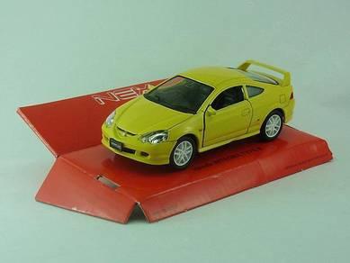 Kereta hiasan 1/36 Honda integra TYPE R kuning