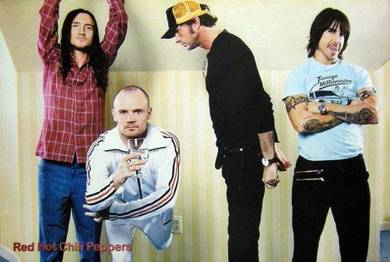 Poster RED HO CHILI PEPPERS the American Punk V2