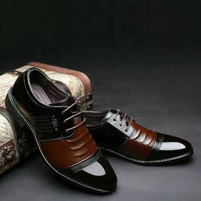 Leather Derby Shoes (MSXQ25461)
