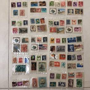 Stamps from various countries