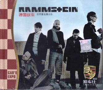 IMPORTED CD RAMMSTEIN Greatest Hits 3CD