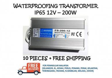 Waterproofing led power supply ip65 12v 200w