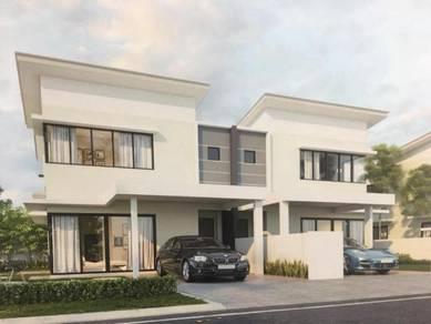 [Project] 35x63 ,Semi-D Cluster house, 3km to Southville Bangi, 0% D/P