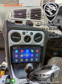 Proton Perdana Android Player GPS Waze Facebook