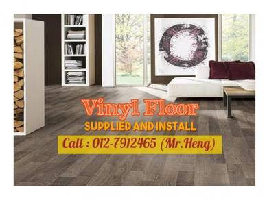 Ultimate PVC Vinyl Floor - With Install 79PL