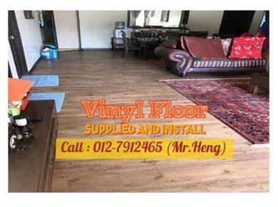Beautiful PVC Vinyl Floor - With Install 59ML