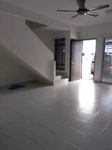 0% Down Payment Double Storey Terrace House at Taman Nusa Bayu Unblock