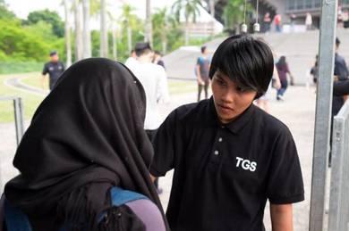Lady Officer / Ketua Pengawal Wanita di Shah Alam