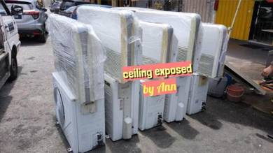 Used Aircond ceiling exposeD (2b)