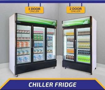 2 Door Chiller Refrigerator/Peti Sejuk/Ice Box