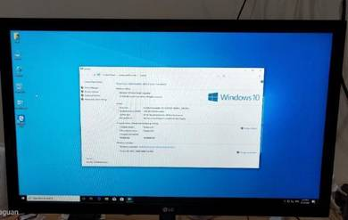 Full Set Computer with LG 22inch LED monitor