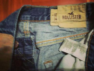 Hollister slim fit jeans W 32 L 43 ref May 31