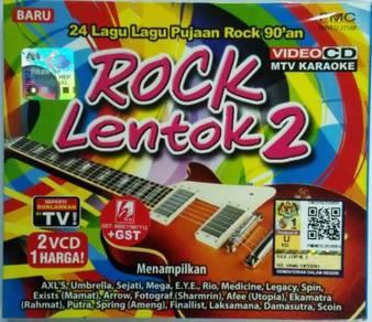 VCD MTV Karaoke Rock Lentok Vol.2 Lagu Pujaan 90an
