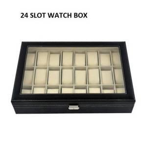 Kotak jam watch box 24 slots 09